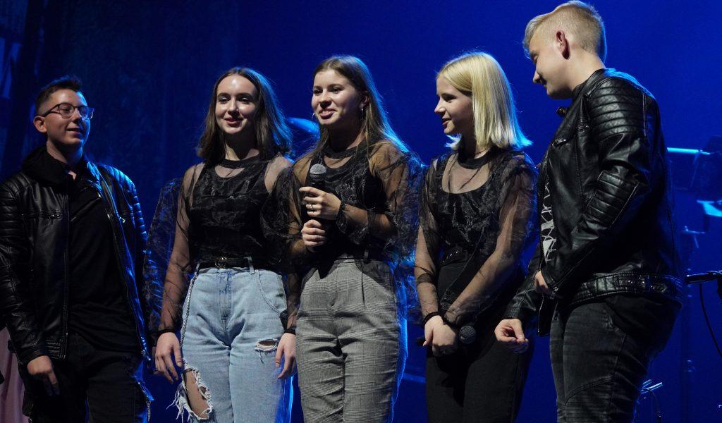 """Bialystok, 14.10.2019. zespol """"The White Tigers"""" z koncertu 14.10.19 - support Kasi Kowalskiej  fot. Anatol Chomicz"""
